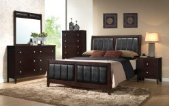 Coaster Carlton Queen 5pc Bedroom Group Available Online in Dallas Fort Worth Texas