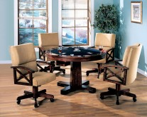 Coaster Marietta 5pc Game Table Dining Set Available Online in Dallas Fort Worth Texas