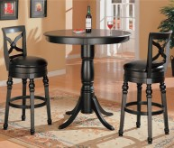 Coaster Dia 3pc Bar Height Dining Set Available Online in Dallas Fort Worth Texas