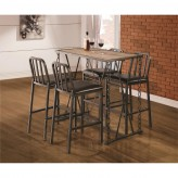 Coaster Chain Gang 5pc Bar Dining Set Available Online in Dallas Fort Worth Texas
