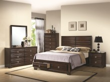 Coaster Bryce Queen 5pc Platform Bedroom Group Available Online in Dallas Fort Worth Texas