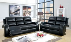 Odette Black Sofa & Loveseat Set Available Online in Dallas Fort Worth Texas