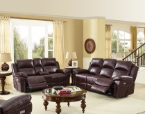 Warner Power Recline Sofa & Loveseat Set Available Online in Dallas Texas