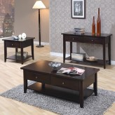 Coaster Whitehall 3pc Coffee Table Set Available Online in Dallas Fort Worth Texas