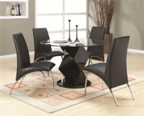 Coaster Ophelia 5pc Dining Room Set Available Online in Dallas Fort Worth Texas