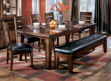 Ashley Larchmont 6pc Rectangular Dining Room Set Available Online in Dallas Fort Worth Texas