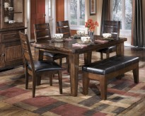 Ashley Larchmont 6pc Dining Room Set Available Online in Dallas Fort Worth Texas