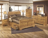 Bittersweet 5pc Queen Sleigh Storage Bedroom Group Available Online in Dallas Fort Worth Texas