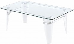 Coaster Amaranth Chrome Coffee Table Available Online in Dallas Fort Worth Texas