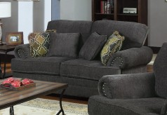 Coaster Colton Smokey Grey Loveseat Available Online in Dallas Fort Worth Texas