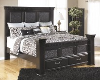 Cavallino King Mansion Storage Bed Available Online in Dallas Fort Worth Texas