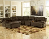 Toletta 6pc Power Left Arm Facing Chaise Sectional Available Online in Dallas Fort Worth Texas