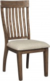Ashley Colestad Light Brown Side Chair Available Online in Dallas Fort Worth Texas