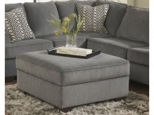 Ashley Loric Smoke Ottoman With... Available Online in Dallas Fort Worth Texas