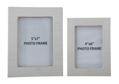 Baback White Photo Frame Available Online in Dallas Fort Worth Texas