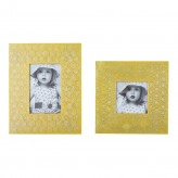 Ashley Bansi Yellow Photo Frame Available Online in Dallas Fort Worth Texas
