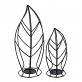 Ashley Cadelaria Black Candle Holder Available Online in Dallas Fort Worth Texas