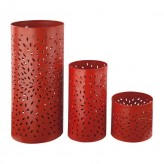 Ashley Caelan Orange Candle Holder Available Online in Dallas Fort Worth Texas