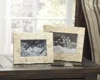 Ashley Kase Cream Photo Frame Set of 2 Available Online in Dallas Fort Worth Texas
