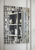 Ashley Odelina Silver Accent Mirror Available Online in Dallas Fort Worth Texas