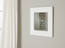 Ashley Odelyn White Accent Mirror Available Online in Dallas Fort Worth Texas