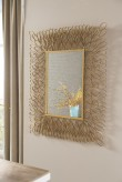 Ashley Ogdon Antique Gold Accent Mirror Available Online in Dallas Fort Worth Texas