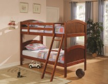 Coaster Arch Panel Twin/Twin Bunk Bed Available Online in Dallas Fort Worth Texas