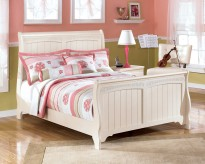 Cottage Retreat Full Sleigh Bed Available Online in Dallas Fort Worth Texas