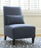 Ashley Harahan Indigo Armless Chair Available Online in Dallas Fort Worth Texas