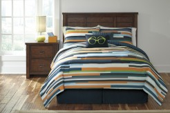 Ashley Seventy Stripe Full Size Comforter Set Available Online in Dallas Fort Worth Texas