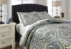Ashley Soliel Multi Queen Duvet Cover Set Available Online in Dallas Fort Worth Texas