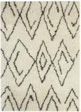 Ashley Mevalyn Black and White Medium Rug Available Online in Dallas Fort Worth Texas