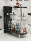 Coaster Dia Black Bar Table Available Online in Dallas Fort Worth Texas