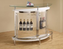 Coaster Dia White Bar Table Available Online in Dallas Fort Worth Texas