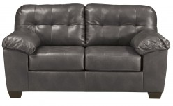 Alliston DuraBlend Grey Loveseat Available Online in Dallas Fort Worth Texas