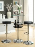 Coaster Dia Revloing Black Bar Table Available Online in Dallas Fort Worth Texas