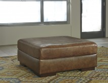Ashley Vincenzo Nutmeg Oversized Accent Ottoman Available Online in Dallas Fort Worth Texas