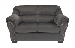 Ashley Kinlock Charcoal Loveseat Available Online in Dallas Fort Worth Texas