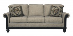 Ashley Blackwood Taupe Sofa Available Online in Dallas Fort Worth Texas