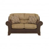 Ashley Vandive Sand Loveseat Available Online in Dallas Fort Worth Texas