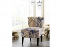 Ashley Ravity Denim Accent Chair Available Online in Dallas Fort Worth Texas