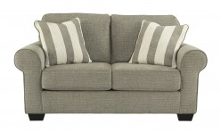 Ashley Baveria Grey Loveseat Available Online in Dallas Fort Worth Texas