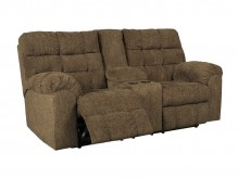 Ashley Antwan Truffle Reclining Console Loveseat Available Online in Dallas Fort Worth Texas