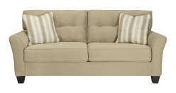 Ashley Laryn Khaki Sofa Available Online in Dallas Fort Worth Texas