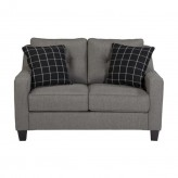 Brindon Charcoal Loveseat Available Online in Dallas Fort Worth Texas