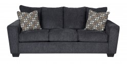 Ashley Wixon Slate Sofa Available Online in Dallas Fort Worth Texas