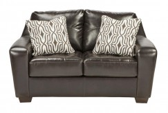 Ashley Coppell DuraBlend Chocolate Loveseat Available Online in Dallas Fort Worth Texas