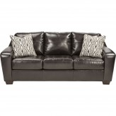 Ashley Coppell DuraBlend Chocolate Sofa Available Online in Dallas Fort Worth Texas