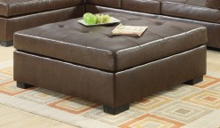 Darie Brown Oversized Ottoman Available Online in Dallas Fort Worth Texas