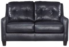 Ashley O'Kean Navy Loveseat Available Online in Dallas Fort Worth Texas